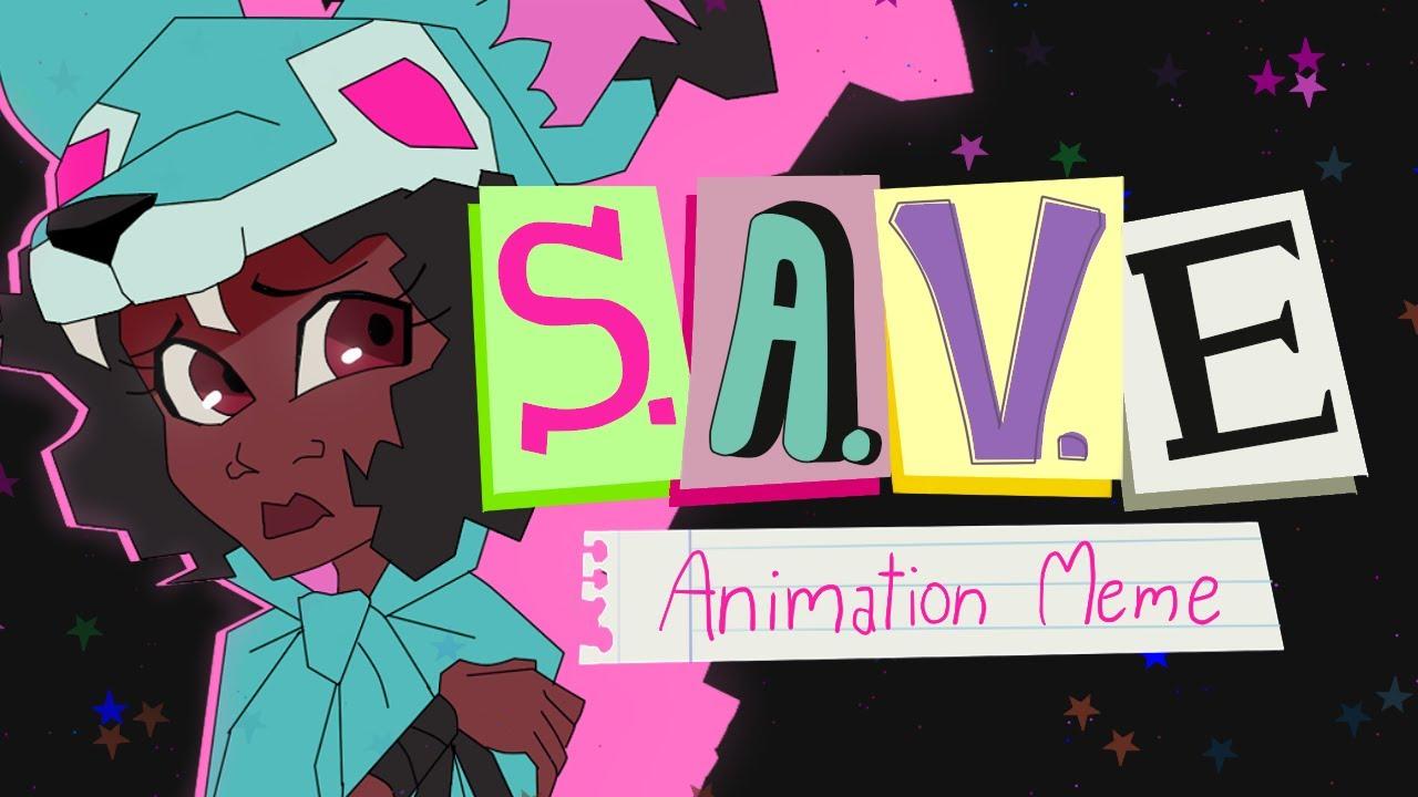 Download S.A.V.E   Animation Meme   Wolf & Margot