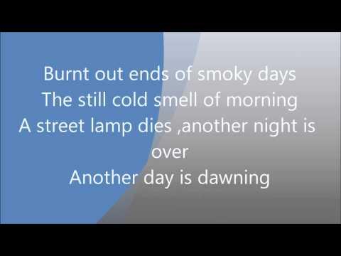 Memory Lyrics Barbara Strasend