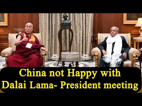 China not happy as Dalai Lama meets President Mukherjee, India rejects objection | Oneindia News