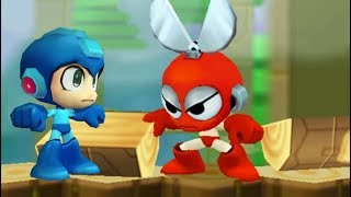 Mega Man Powered Up (PSP) All Bosses (No Damage)