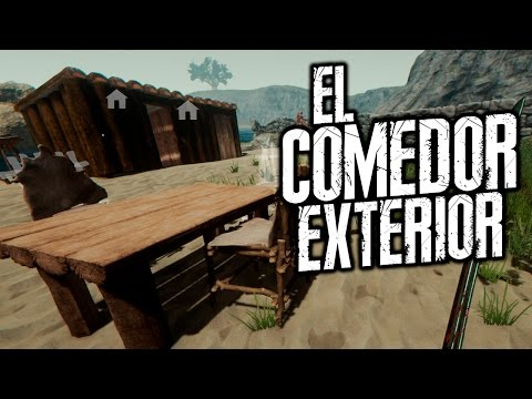 THE FOREST: EL COMEDOR EXTERIOR | iTownGamePlay