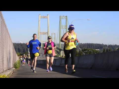 Video Sights And Sounds Of The Tacoma City Marathon