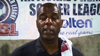Jacksonville United coach Eric Dade, NPSL Champion
