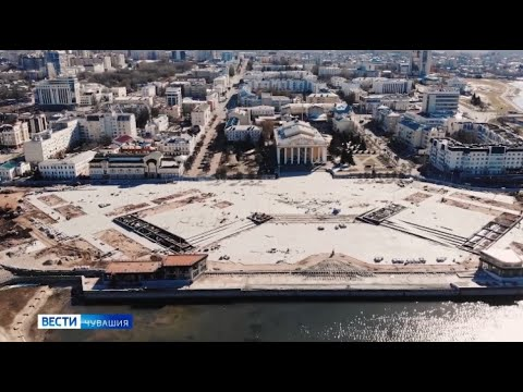 Реконструкцию Красной площади в Чебоксарах завершат раньше срока