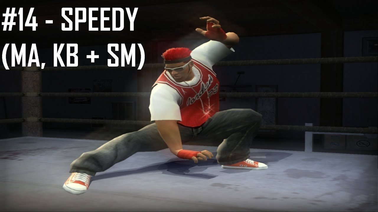 Def Jam FFNY: Style Showcase - Speedy (MA, KB + SM)