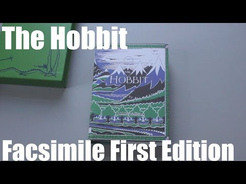 My Tolkien Book Collection | Closer Look - The Hobbit Facsimile First Edition