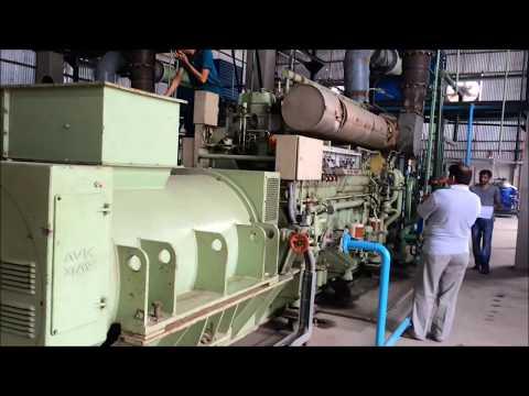 HFO Power Plant 3M.W (Generator)
