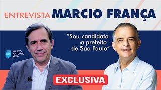Gambar cover Marcio França: Sou candidato a  prefeito de São Paulo