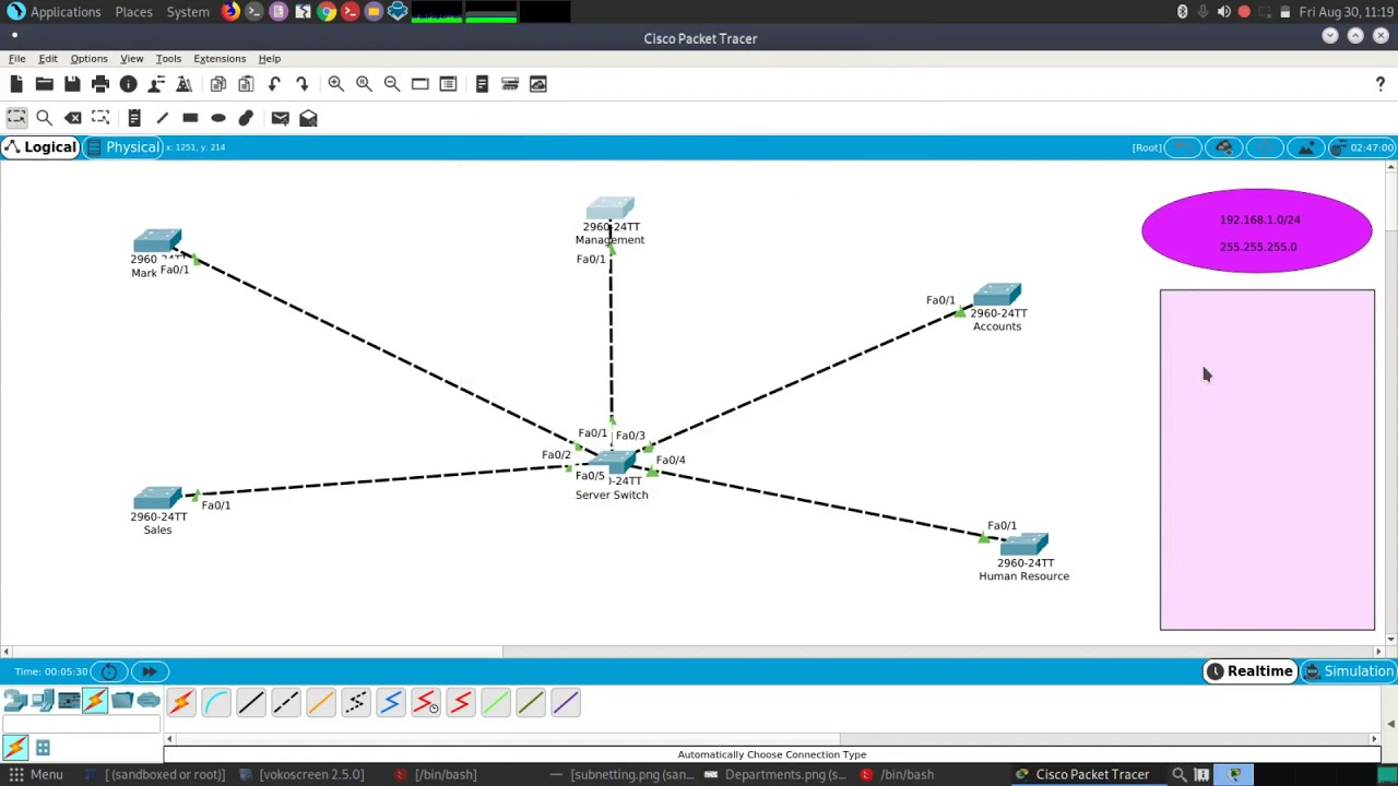 Cisco Packet Tracer Setting Up A Small Office 1 Youtube