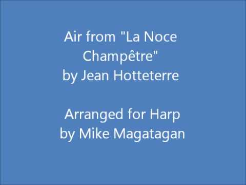 "Air from ""La Noce Champêtre"" for Harp"