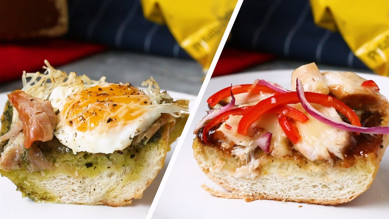 30-Minute Pizza Party Boats