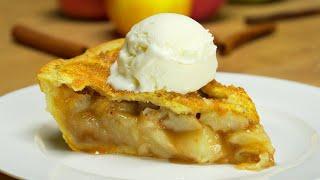Яблочный пирог ароматный, нежный, с тонкой хрустящей корочкой. Рецепт от Всегда Вкусно!