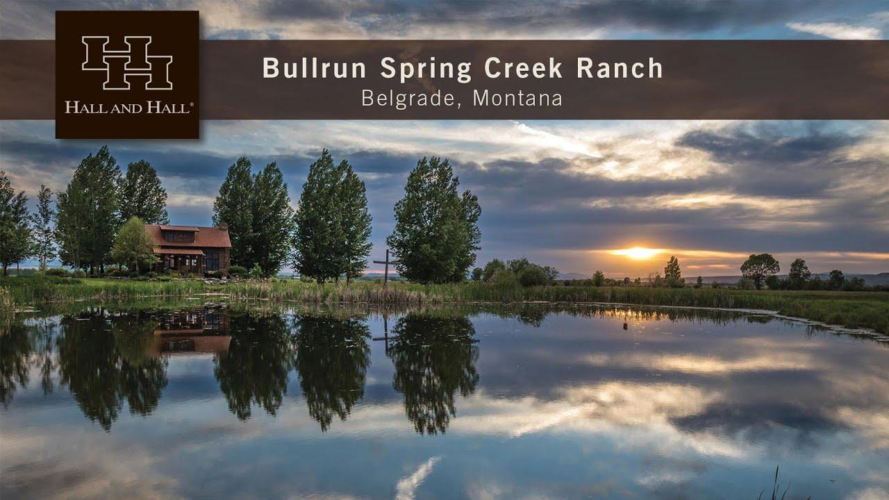 Bullrun Spring Creek Ranch - Belgrade, Montana