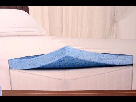 Sleep Innovations Novaform Memory Foam Mattress Topper Install