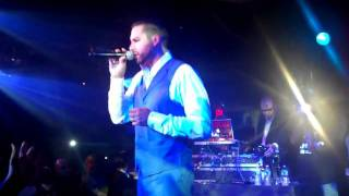 """Soave singing, """"Crying Over You"""" @ The Copa Freestyle Concert: 11/23/11"""