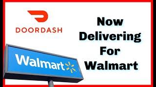 DoorDash Delivers Walmart - Walmart Delivery Review