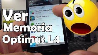 Como mirar memoria interna del móvil LG® Optimus L4 comoconfigurar