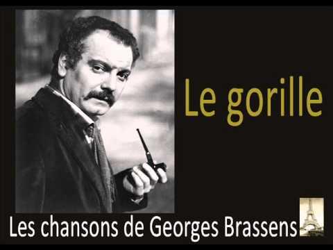 Georges Brassens - Le Gorille