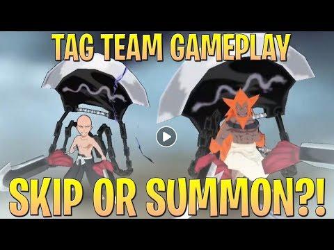 Bleach Brave Souls  TAG TEAM ŌMEADA, TOSHIRO, IKKAKU GAMEPLAY REACTION  SAVE OR SUMMONS?