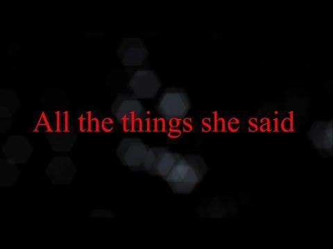 t.a.T.u. - All The Things She Said (versão Metal) lyric