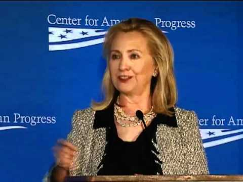 Secretary Clinton Delivers Remarks on American Global Leadership