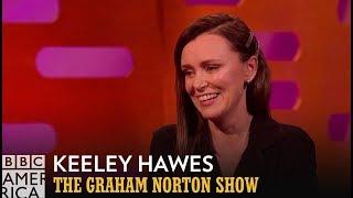 Keeley Hawes' Bizarre Bodyguard Encounter | The Graham Norton Show | Fridays at 11/10c | BBC America