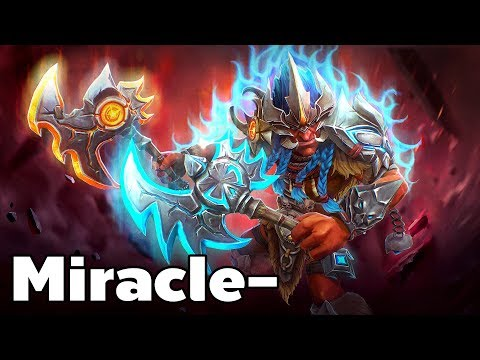 Miracle- Pro Troll Warlord Carry Rank MMR Game