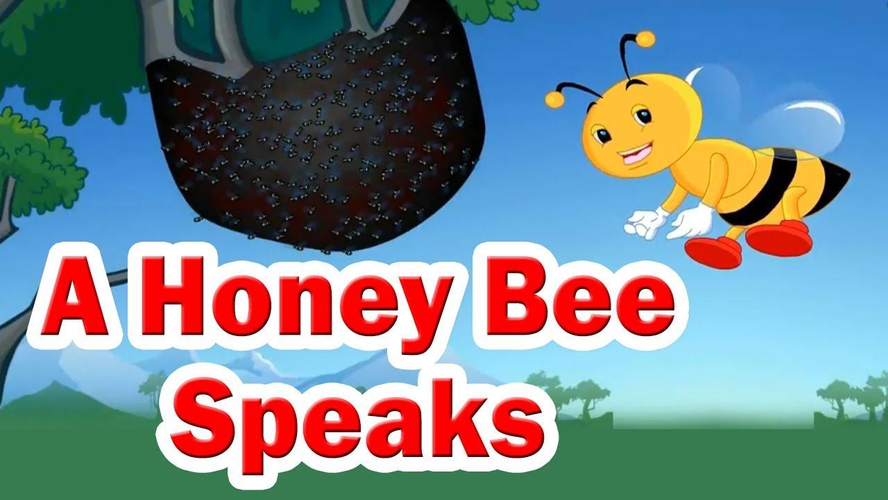 Class 3 I A Honey Bee Speaks   English   English Medium   Maharashtra Board    Home Revise - YouTube [ 720 x 1280 Pixel ]