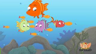 Three Little Fishies - Nursery Rhyme  (HD)