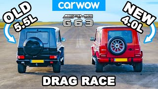 NEW vs OLD AMG G63:  DRAG RACE & Challenges!
