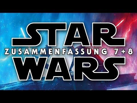 STAR WARS 7+8 Zusammenfassung   Recap Episode VII + Episode VIII