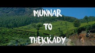Munnar to Thekkady | Road Trip | DJI OSMO Mobile