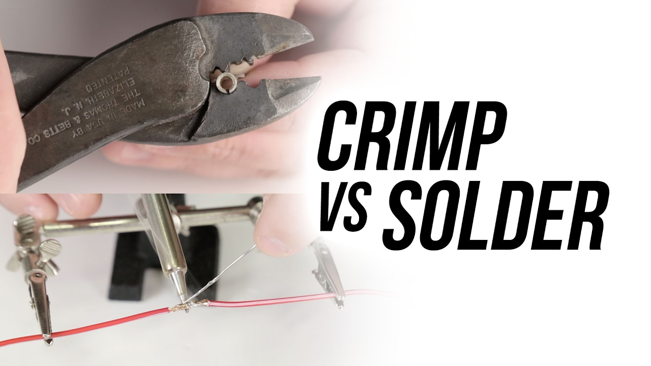 how to know when to crimp vs solder holley tech [ 1280 x 720 Pixel ]