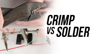 How to Know When to Crimp vs Solder - Holley Tech