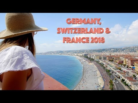 Germany, Switzerland and France Travel Video 2018