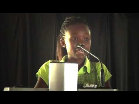 2015 KCPE candidate Josephine Nyakundi's speech at the Bridge Women Leaders Conference