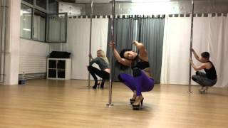 Jazzy K - Exotic Pole Dance Routine
