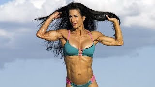 56 years young IFBB Pro Fitness woman Janet Lynn West