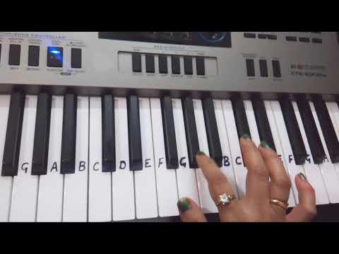 Pardesiyon se na ankhiyan Milana| Keyboard piano tutorial