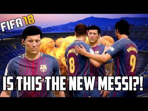 10 Highest Potential FIFA 18 Wonderkids - Is This The NEW Messi?