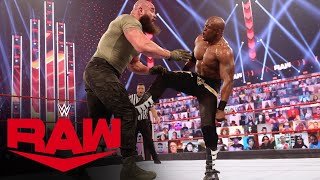 Braun Strowman vs. Bobby Lashley: Raw, Feb. 22, 2021