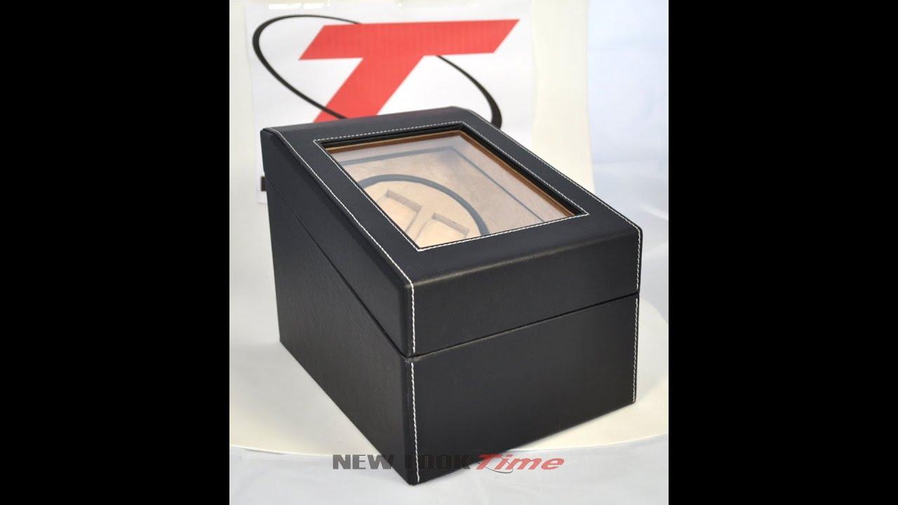 382e3b20058 Caixa movimentadora para armazenar relógios até 05 pçs - YouTube