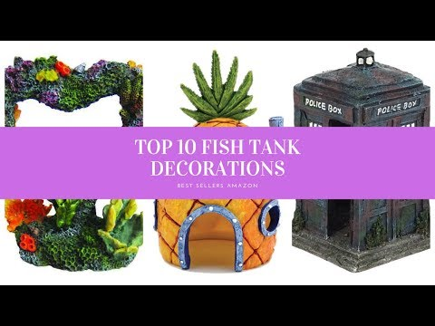 ✔️ TOP 10 BEST FISH TANK DECORATIONS 🛒 Amazon 2019