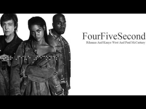 Four Five Seconds ( Rihanna - Kanye West - Paul McCartney) OFFICIAL VIDEO
