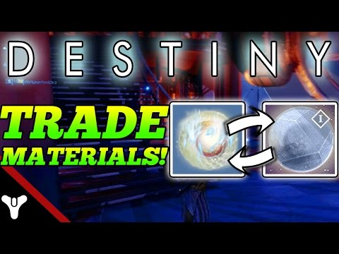 Trading system on destiny