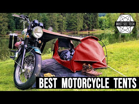 Top 8 Tents Specially Designed for Motorcycle Camping and Adventure Touring
