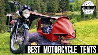 Top 8 Tents Specİally Designed for Motorcycle Camping and Adventure Touring