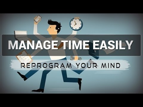 Positive Affirmations for Time Management - Law of attraction - Hypnosis - Subliminal