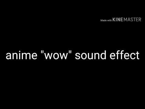 "Anime ""wow"" Sound Effect"