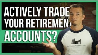 🎰Can you actively trąde your retirement accounts? | The Dough 💲how